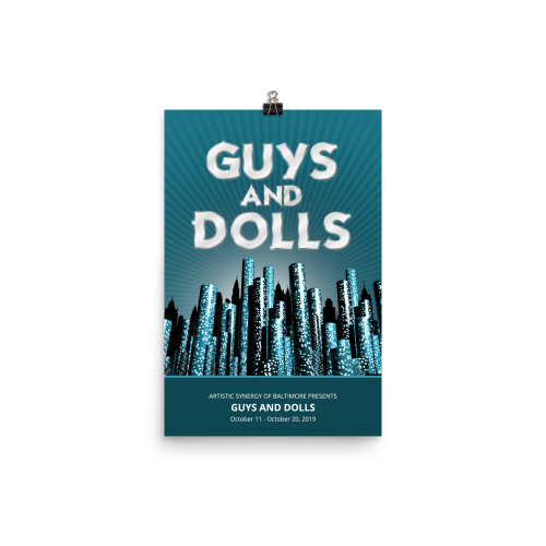 Guys and Dolls- Poster