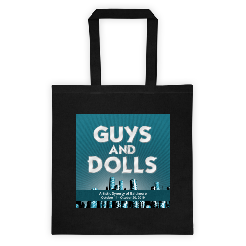 Guys and Dolls- Totebag