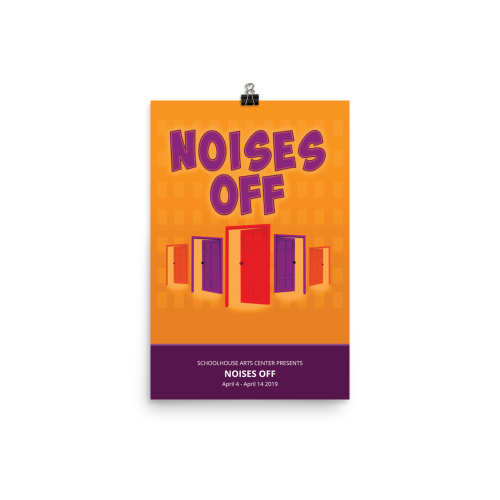 Noises Off- Poster