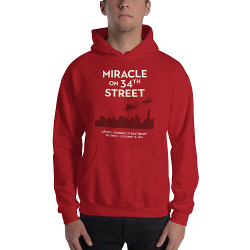 A Miracle on 34th Street- Hooded Sweatshirt