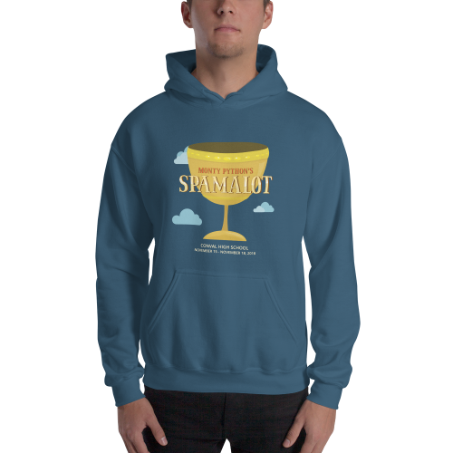 SPAMALOT- Hooded Sweatshirt