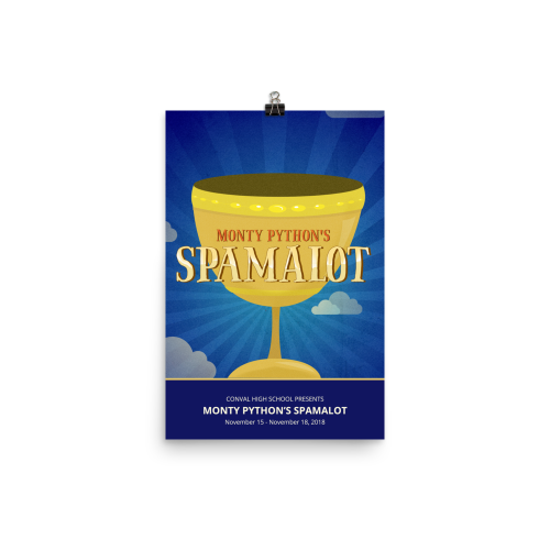 SPAMALOT- Poster