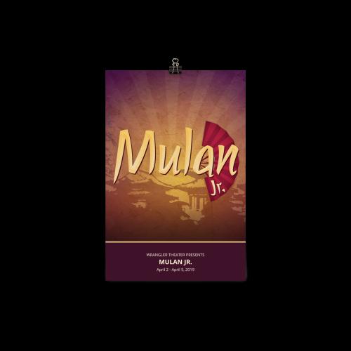 Mulan Jr. - Poster