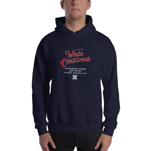White Christmas- Hooded Sweatshirt