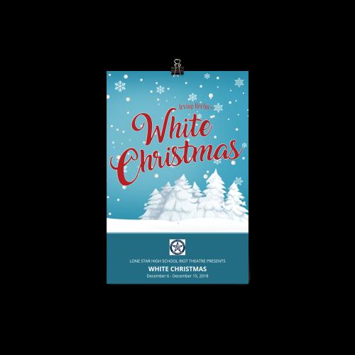White Christmas- Poster