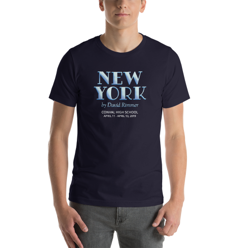 New York by David Rimmer- T Shirt