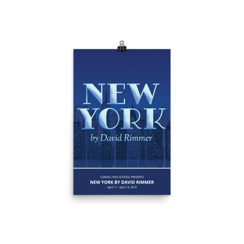 New York by David Rimmer- Poster
