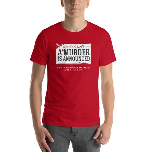 A Murder is Announced- T Shirt