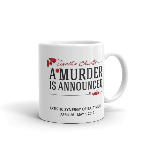 A Murder is Announced- Mug