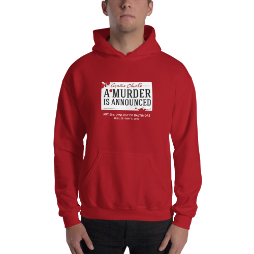 A Murder is Announced- Hooded Sweatshirt
