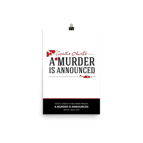A Murder is Announced- Poster