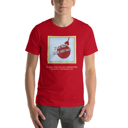 World War II Radio Christmas- T Shirt