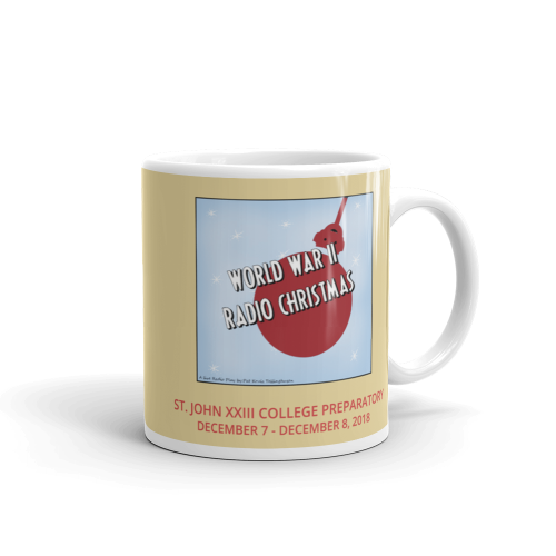 World War II Radio Christmas- Mug