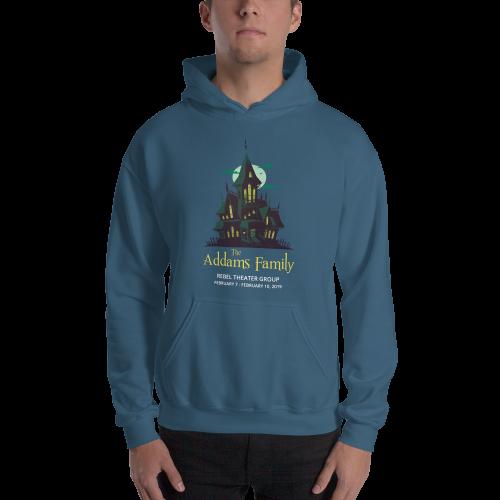 The Addams Family- Hooded Sweatshirt