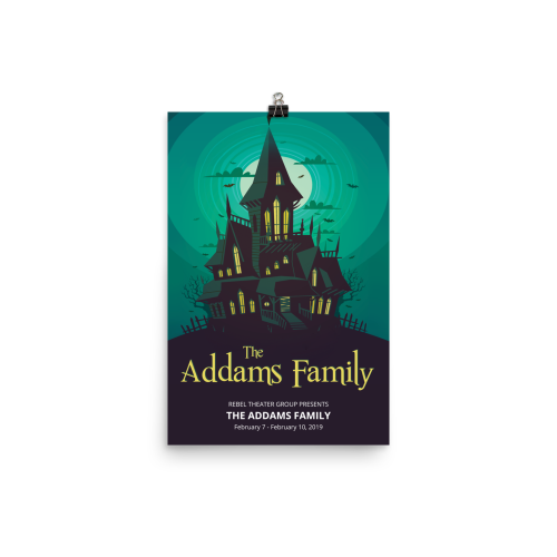 The Addams Family- Poster