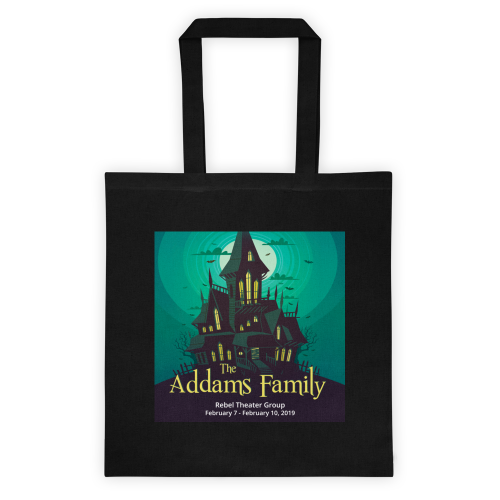 The Addams Family- Totebag