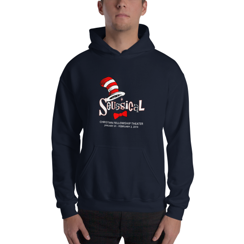 Seussical- Hooded Sweatshirt