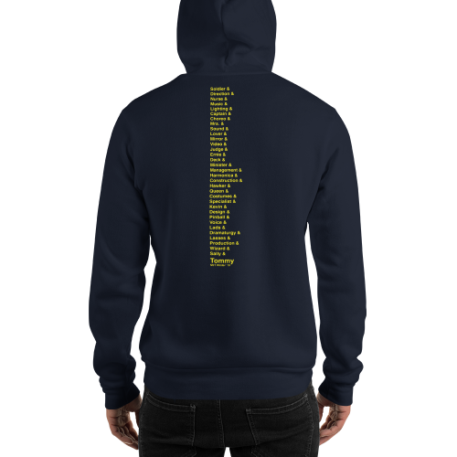 The Who's Tommy- COMPANY Hooded Sweatshirt