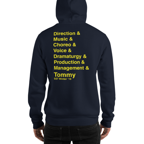 The Who's Tommy- STAFF Hooded Sweatshirt