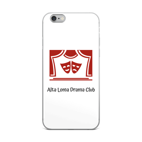 Alta Loma Drama Club iPhone Case