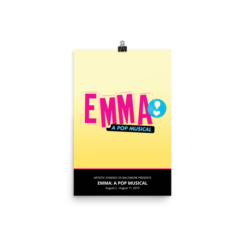 Emma: A Pop Musical Poster