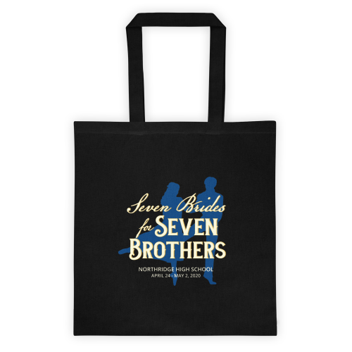 Seven Brides for Seven Brothers Tote Bag
