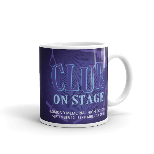 Clue: On Stage Mug