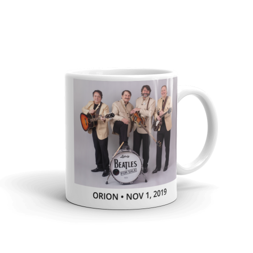 Beatles for Sale- A Tribute Band 2019 Mug