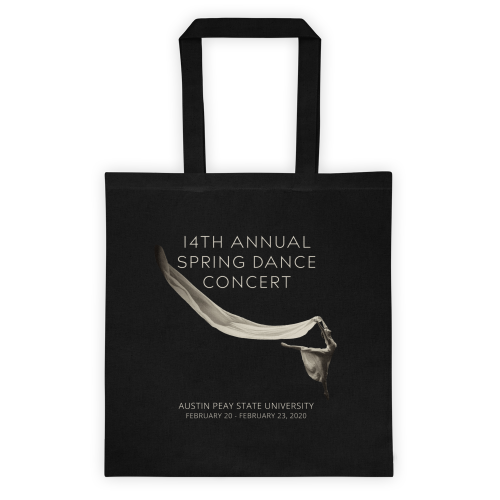 14th Annual Spring Dance Concert Tote Bag