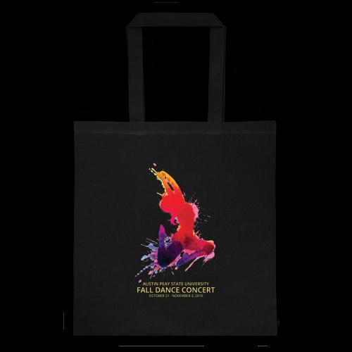Fall Dance Concert Tote Bag