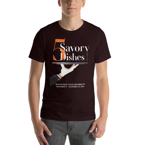 Five Savory Dishes T-Shirt