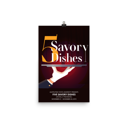Five Savory Dishes Poster