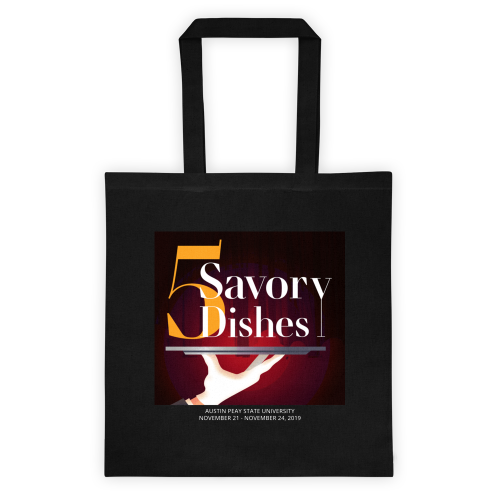 Five Savory Dishes Tote Bag