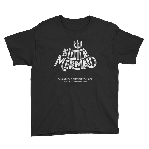 Youth Little Mermaid t-shirt