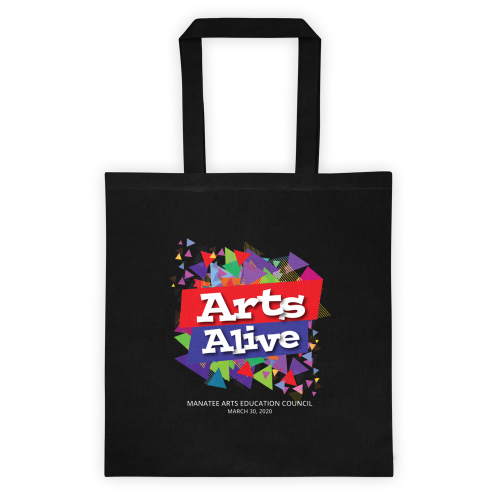 Arts Alive! A Celebration of the Arts Tote Bag