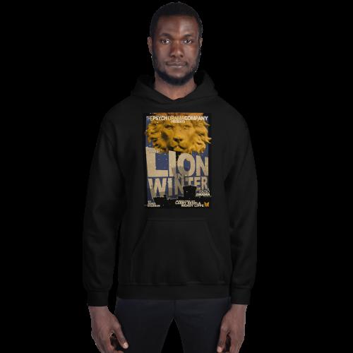 Lion in Winter Sweatshirt