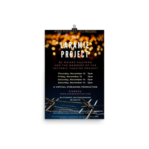 Laramie Project Poster
