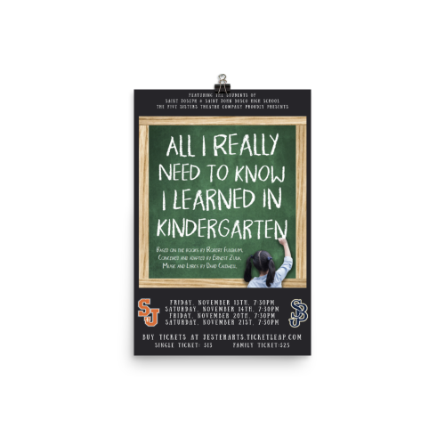 All I Learned Poster