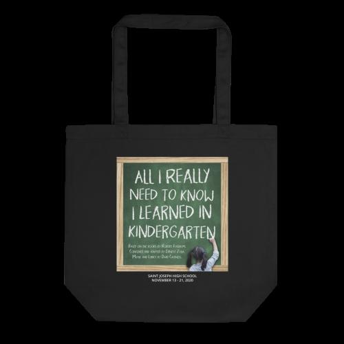 All I Learned Tote Bag