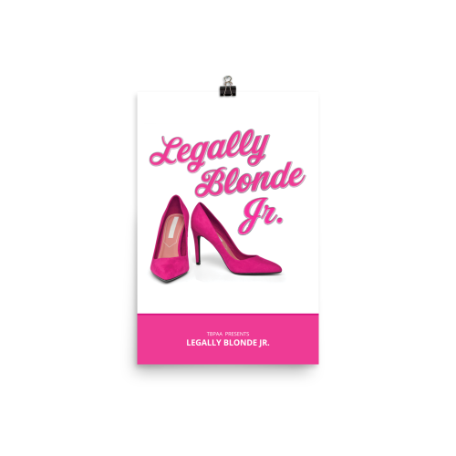 Legally Blonde Jr. Poster