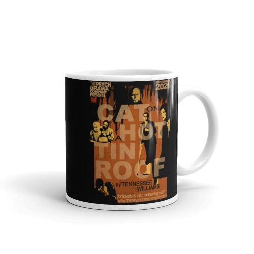 Cat on a Hot Tin Roof Mug