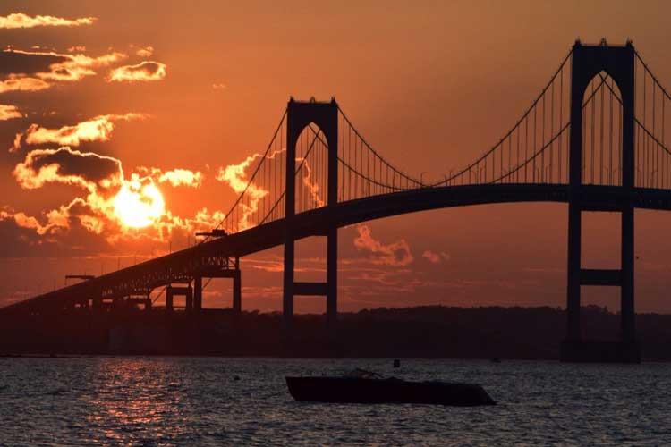 Sunset sail bring a camera