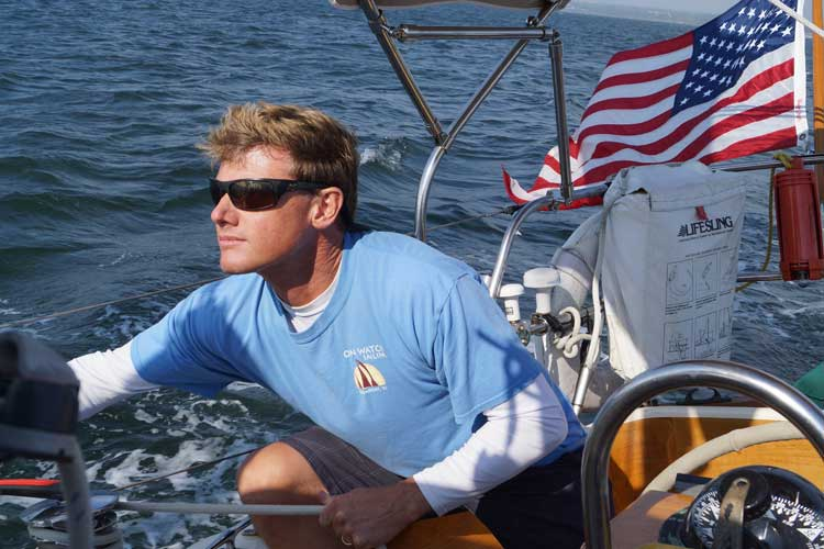 Learn about local sights and sailing from Captain Green