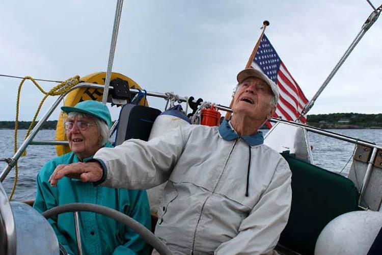 Sailing is fun!