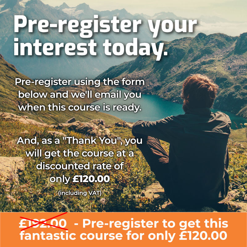 Pre-register your interest today.