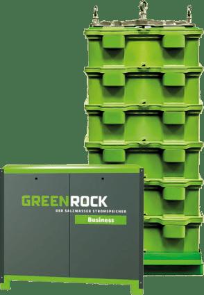 GREENROCK het batterijsysteem voor woningeigenaren en bedrijven