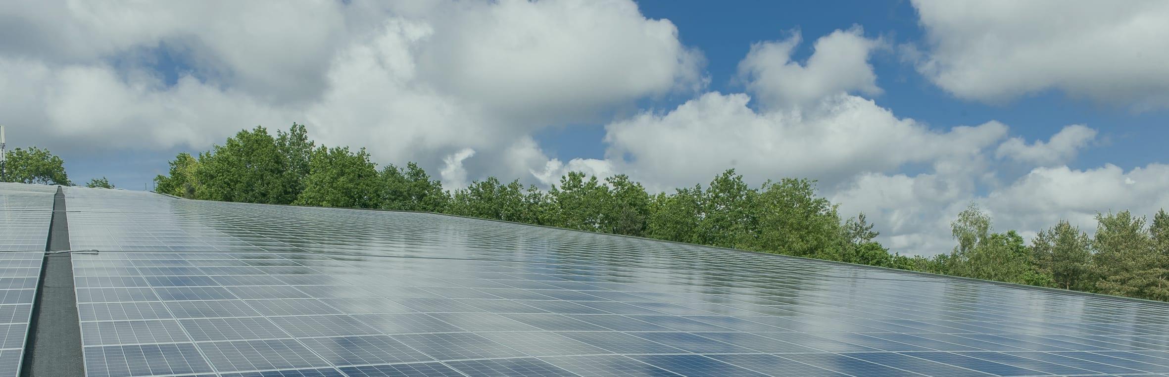 Zonnepanelen in heel Nederland