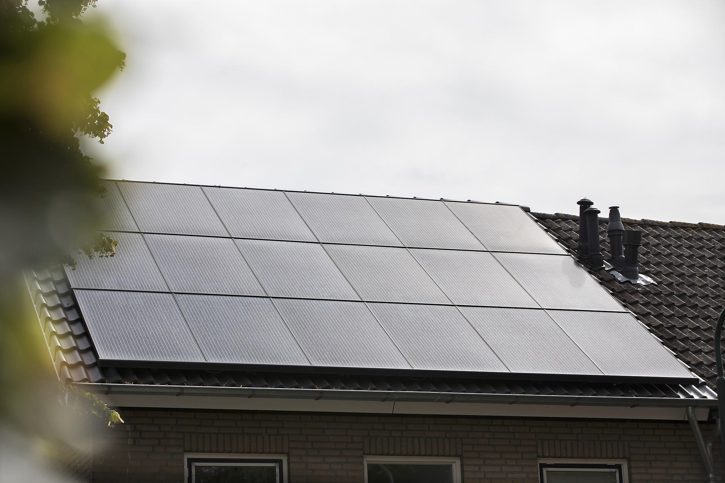 Montagesysteem voor zonnepanelen