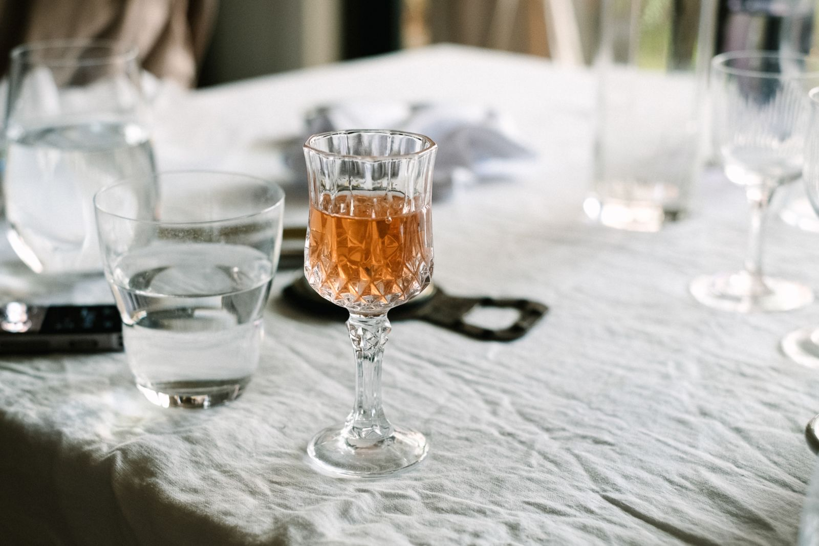 以蘭姆酒為基底的草莓酒。