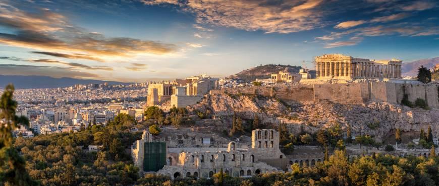 Zorba: Atenas + Circuito Delfos y Meteora + Miconos y Santorini